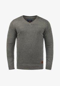 Blend - LASSE - Jumper - grey melange - 4