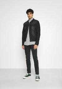 INDICODE JEANS - GLENALVON - Denim jacket - black - 1