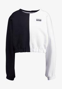 adidas Originals - R.Y.V. CREW LONG SLEEVE PULLOVER - Strikkegenser - black/white - 5