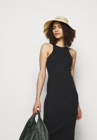rag & bone - THE ESSENTIAL TANK DRESS - Maxi dress - black - 3