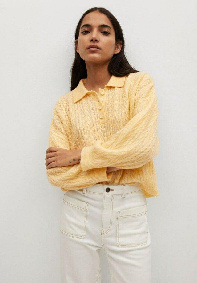 SAFARI - Trui - jaune pastel