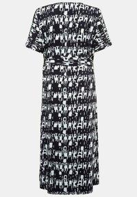 Ulla Popken - Maxi dress - dark blue - 3