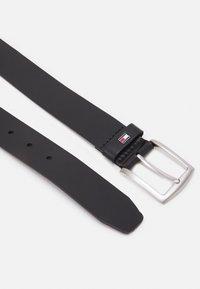 Tommy Hilfiger - NEW DENTON BELT - Belt - black - 1