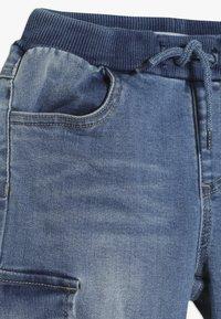 Name it - NMMBOB  - Pantalones cargo - light blue denim - 4