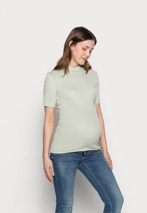 PCMBIRDIE TNECK - Basic T-shirt - desert sage