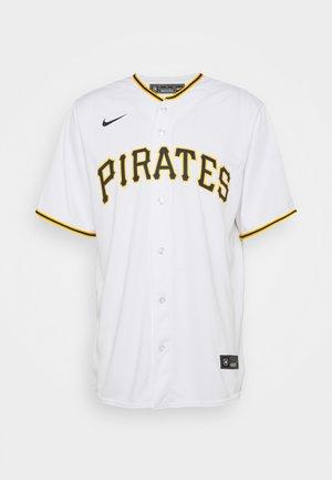 MLB PHITTSBURG PIRATS OFFICIAL REPLICA HOME - Triko spotiskem - white/scarlet