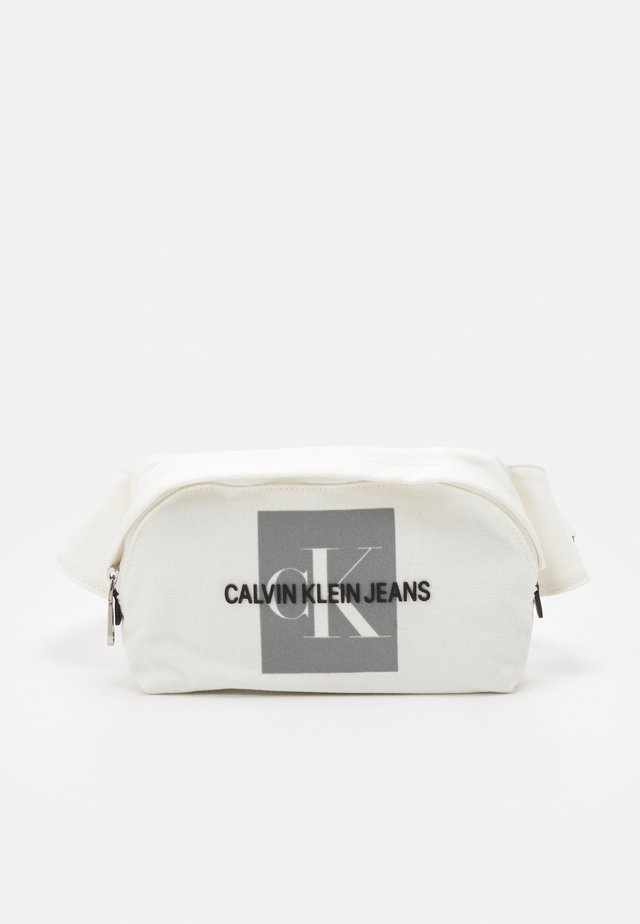WAIST BAG EXCLUSIVE UNISEX - Ledvinka - white