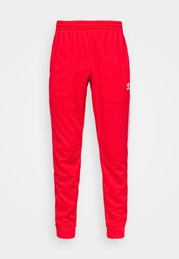 Pantalon de survêtement - red/white