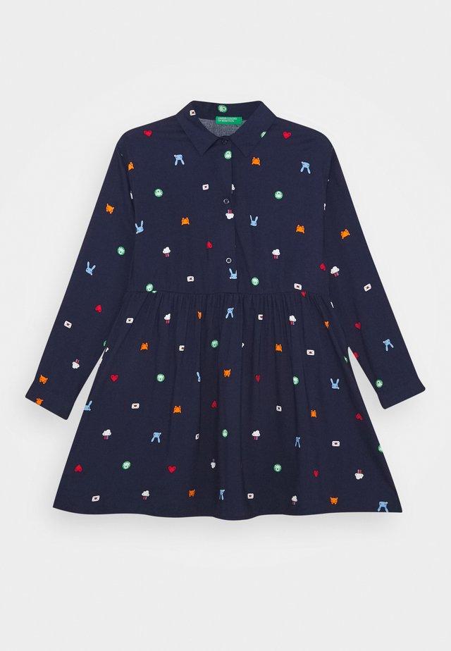 FUNZIONE GIRL - Sukienka koszulowa - dark blue