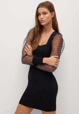 LACY - Day dress - czarny