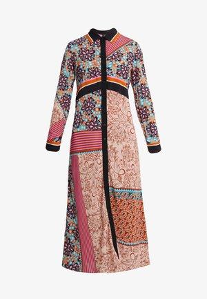 GRANETTI ABITO HABUTAY - Shirt dress - multi/rosa/bruciato