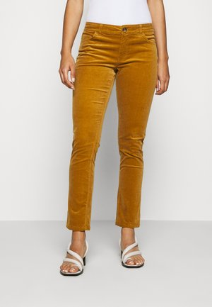 JDYERA - Trousers - golden brown