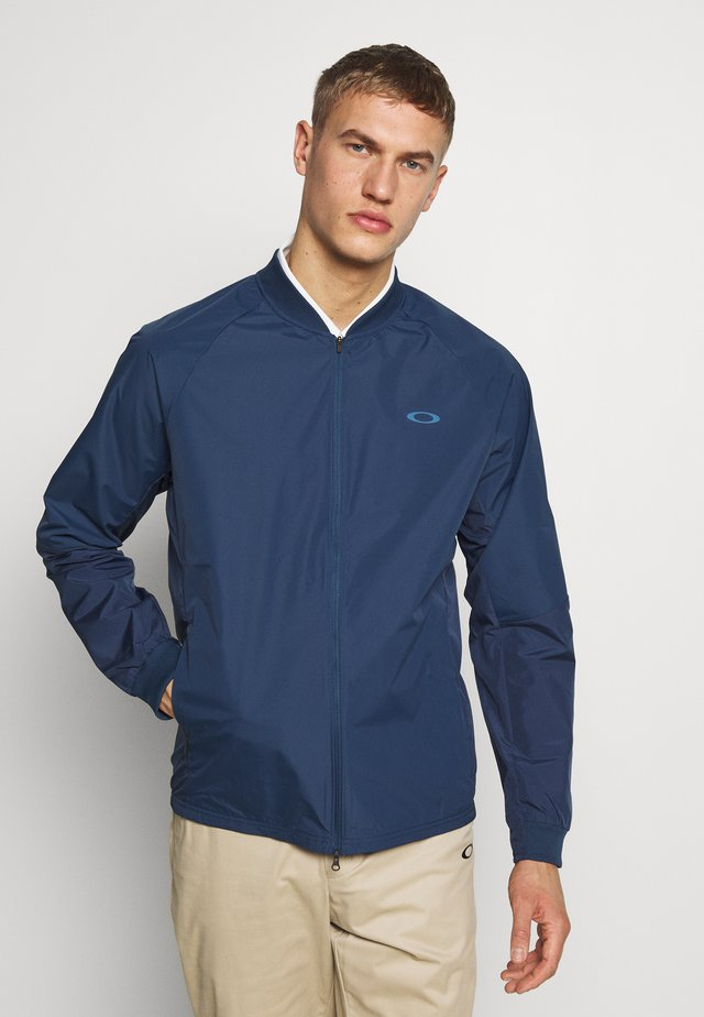 GOLF TECH JACKET - Giacca hard shell - universal blue