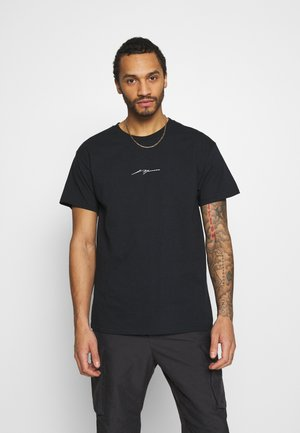 EXPANDING - T-shirt con stampa - black