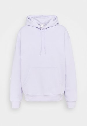 ODA - Hoodie - lilac purple dusty light solid