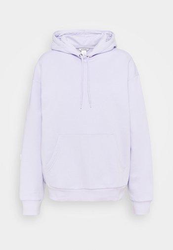 Hoodie - lilac purple dusty light solid