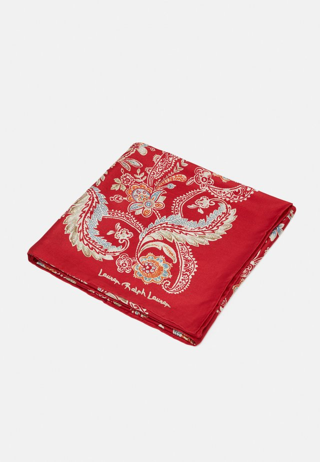 FRANCES SQUARE SCARF - Foulard - orient red
