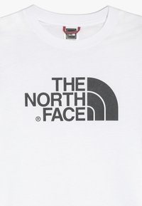 The North Face - YOUTH EASY UNISEX - Print T-shirt - white/black - 3
