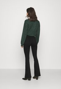 Dr.Denim - MOXY - Flared jeans - black - 2