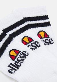 Ellesse - POLIERO 3 PACK UNISEX - Socks - white - 1