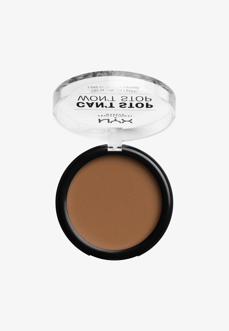 Nyx Professional Makeup - CAN'T STOP WON'T STOP POWDER FOUNDATION - Powder - CSWSPF15PT7 warm caramel