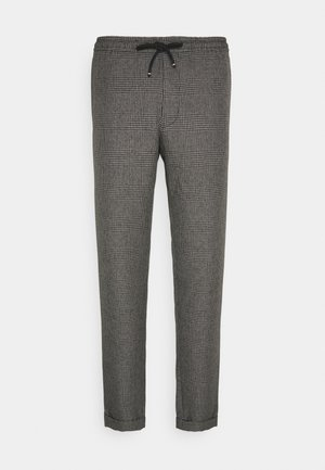 ACTIVE PANT PRINCE OF WALES - Trousers - grey
