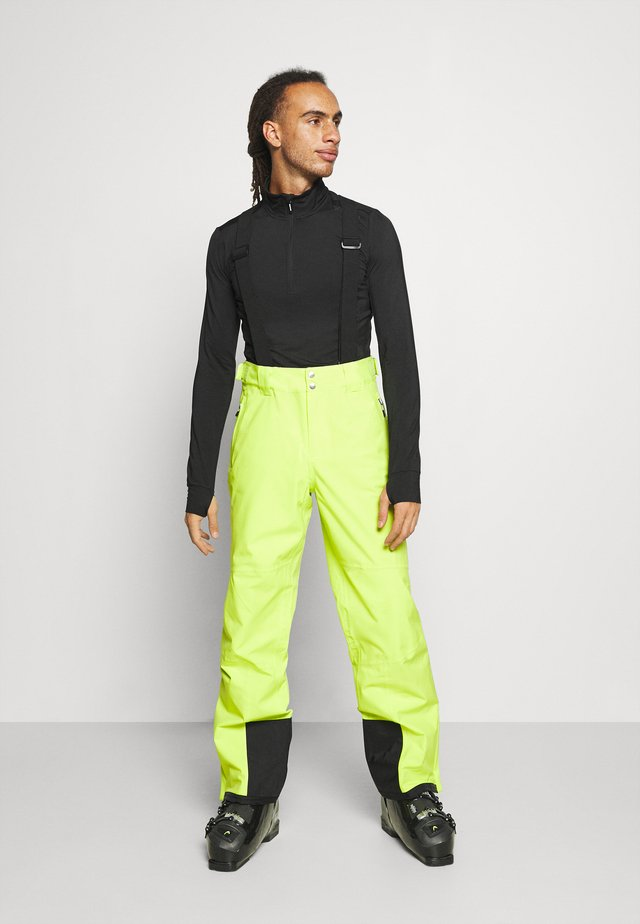 ACHIEVE PANT - Snow pants - lime punch