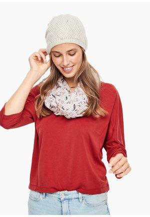 Mütze - beige knit