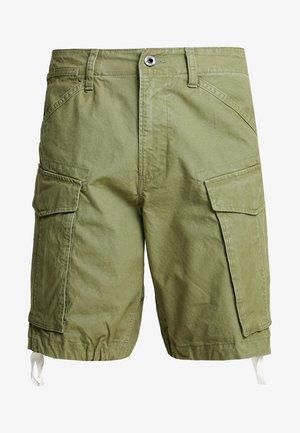 ROVIC MOTO LOOSE FIT - Pantalones cargo - sage