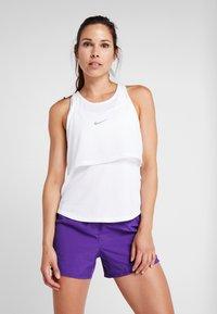 Nike Performance - TANK BREATHE - Camiseta de deporte - white - 0