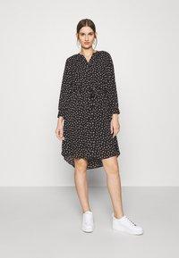 Selected Femme - SLFDAMINA  DRESS  - Skjortekjole - black - 0