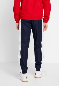 Lacoste Sport - TRACKSUIT - Träningsset - red/white/navy blue - 4