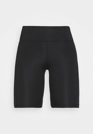 FAST  - Leggings - black/reflective silver