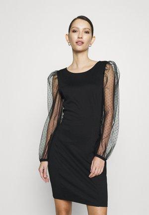 VISPENSA DRESS - Jersey dress - black