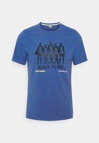 Puma - TEE - T-shirt con stampa - star sapphire - 4