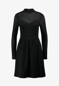 ONLY - ONLNIELLA DRESS - Vestido ligero - black - 4