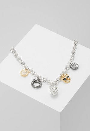 CHOUPETTE MULTI CHARM  - Necklace - silver-coloured