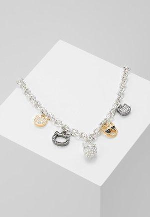 CHOUPETTE MULTI CHARM  - Collana - silver-coloured