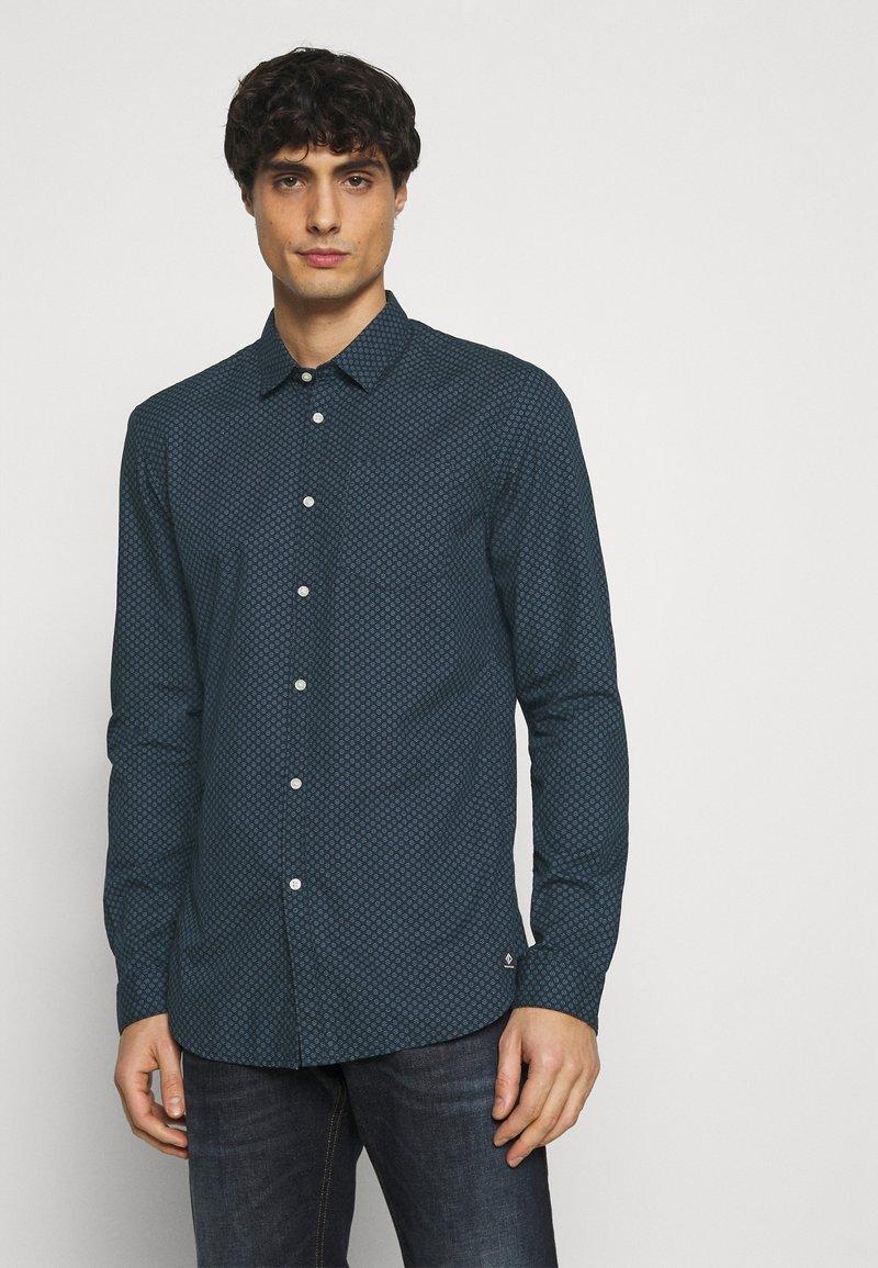 TOM TAILOR DENIM - Shirt - navy