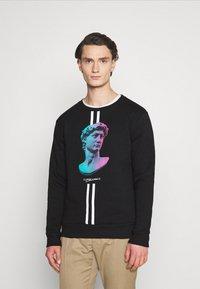 CLOSURE London - LINEAR STATUE CREWNECK - Sweatshirt - black - 0