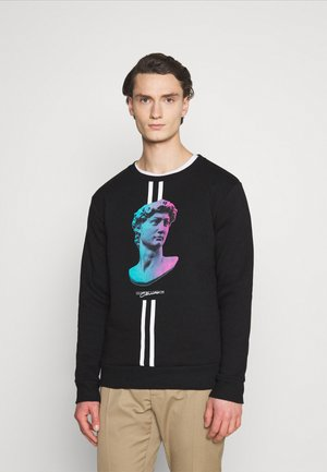 LINEAR STATUE CREWNECK - Sweatshirt - black