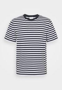 SAMI CLASSIC STRIPE - Print T-shirt - navy