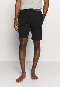 Calvin Klein Underwear - ONE SLEEP - Pyžamový spodní díl - black - 0