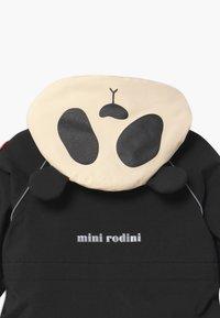 Mini Rodini - BABY ALASKA PANDA UNISEX - Snowsuit - black - 4