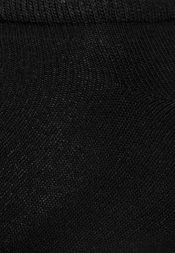 s.Oliver ONLINE ESSENTIAL SNEAKER 10 PACK UNISEX - Skarpety - black/czarny Odzież Męska GUFF