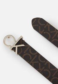 Calvin Klein - LOGO BELT MONO - Belt - brown - 1