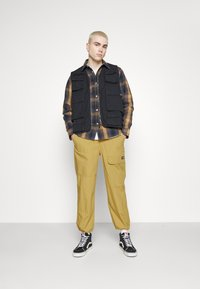 Dickies - GLYNDON PANT - Cargo trousers - dark khaki - 4
