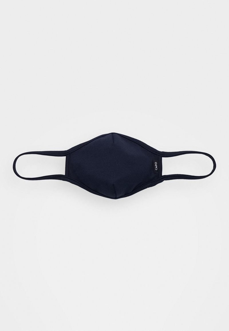 Capo - FACEMASK SINGLE - Stoffen mondkapje - dark blue