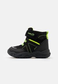 Superfit - GLACIER - Winter boots - schwarz/gelb - 0