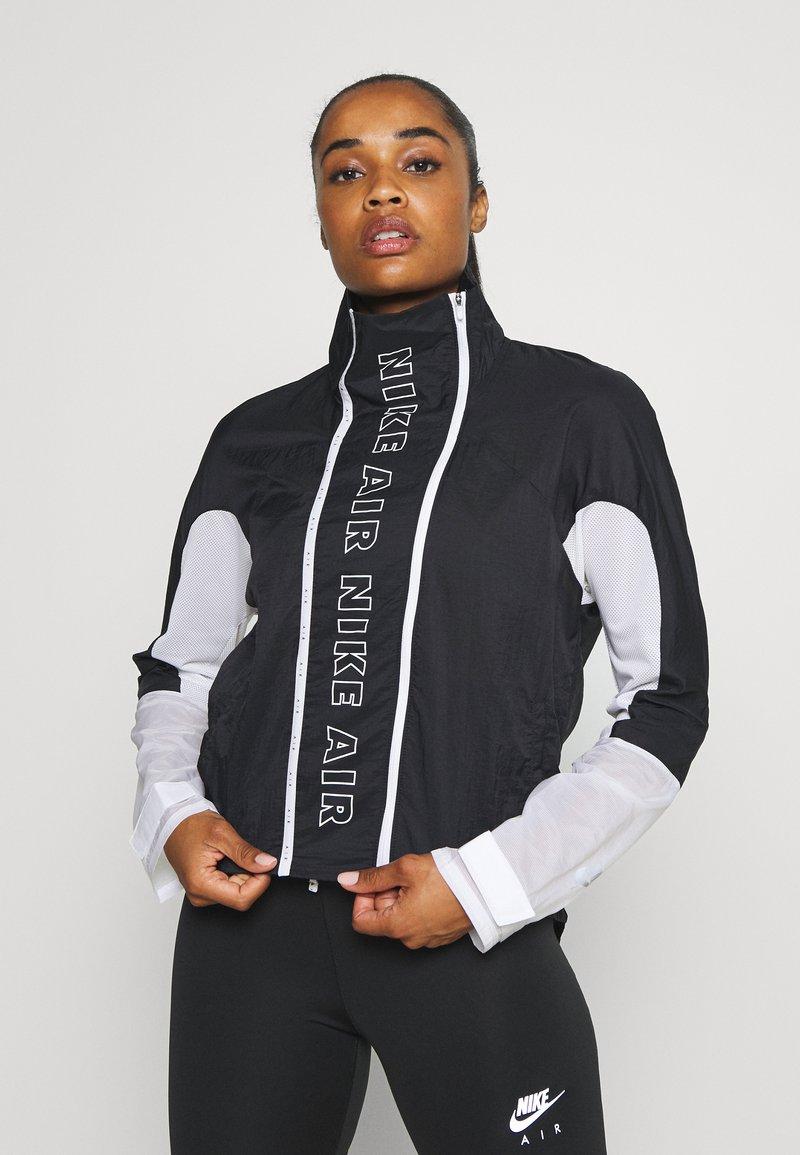 Nike Performance - AIR - Běžecká bunda - black/white